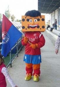 """""""Masisote"""" la mascota del Rtvo. Bailén CF"""