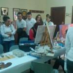 Quince alumnos de la Casa de Oficios Bailén IV comienzan sus prácticas ayudando a personas dependientes