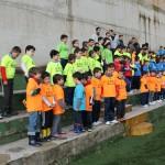 El Ayuntamiento hace entrega de las equipaciones a sus equipos de la Escuela de Fútbol 7