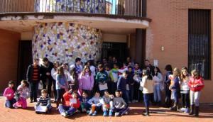 Alumnos del colegio General Castaños en su visita a Innovarcilla