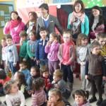 El diestro Curro Díaz visita la Escuela Historiador Jesús de Haro
