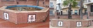 Montaje Fuente Plaza Andalucía