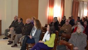 Asistentes a la reunión de la Unión de Consumidores de Jaén