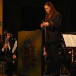 María Luisa Nuñez directora invitada por la Banda de Música de Puertollano