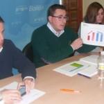 NNGG asegura en Bailén, que en materia educativa las políticas del partido socialista en Andalucía son un fracaso