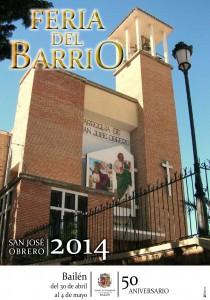 Cartel Feria del Barrio 2014