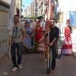 La cofradía de la Virgen de la Cabeza celebra su tradicional Domingo de Banderas