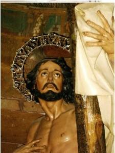 San Dimas, detalle. (Foto gentileza de Juan Simón García).