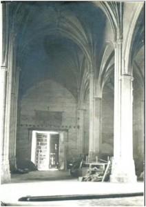 Puerta interior de La Encarnación. (Imagen extraída del Grupo de facebook del Instituto de Estudios Bailenenses).
