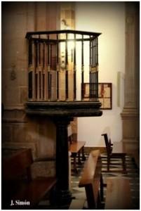Púlpito, ya sin escaleras. (Foto gentileza de Juan Simón García)