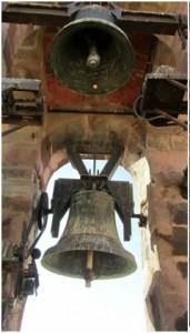 Detalle de las campanas. (Foto gentileza de Juan Aguilar Villar).