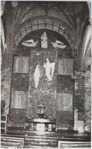 El Retablo Mayor modernista, el año de su inauguración, 1972.