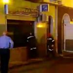 Incendio en una pajarería de Bailén