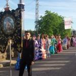 La Cofradía de la Virgen de la Cabeza participa en el desfile celebrado en Andújar