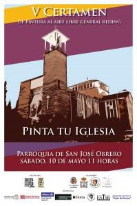 Cartel Pinta tu Iglesia