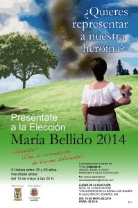 Cartel María Bellido