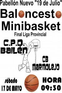 FINAL MINIBASKET DE BALONCESTO