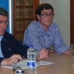 Fernández de Moya visita Bailén para continuar con la campaña electoral europea