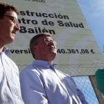 Líderes del PP comparan las obras inacabadas de Bailén con el proyecto europeo del PSOE