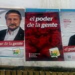 La Junta Electoral exige a IU retirar el exceso de carteles tras la denuncia del PP