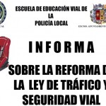 La Escuela de Educación Vial ofrece dos charlas informativas sobre la reforma de la Ley de Tráfico