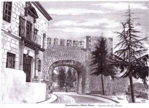 Ayuntamiento y Puerta Nueva, Segura de la Sierra. Francisco Arias, 2006