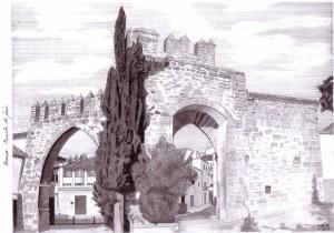 Puerta de Jaén, Baeza. Francisco Arias, 2007