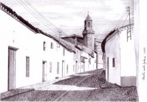 Calle Iglesia, años 50. Francisco Arias, 2008