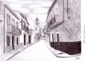 Calle Iglesia en la actualidad. Francisco Arias, 2008