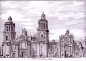 Catedral Metropolitana de México. Francisco Arias, marzo de 2014