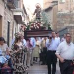 Todo preparado para la procesión de San Isidro