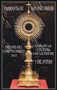 Cartel Pregón Corpus