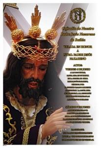 Cartel Velada Nuestro Padre Jesús