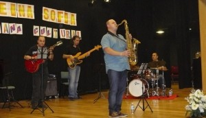 El grupo Jaén Jazzy Jazz Quartet