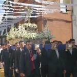 Radiante procesión del Corpus en Bailén