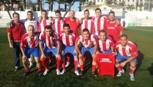 Peña Atco. Madrid, subcampeones de la Liga Local de Fútbol 7 en 2013.