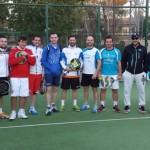 El CPD Pádel Bailén se clasifica a semifinales de la liga provincial