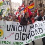 IU y el PCA participarán hoy en la manifestación que se celebrará en Jaén