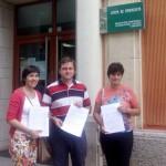 1.700 firmas para pedir la no supresión de un puesto de maestro en el Virgen de Zocueca