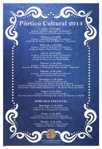 Portico - Fiestas 2014