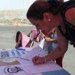 El colegio Virgen de Zocueca recoge más de mil firmas para recuperar a una profesora