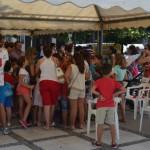 Decenas de niños participan en el Pórtico Infantil