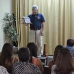 Juan Risueño presenta la revista Aventura Clásica