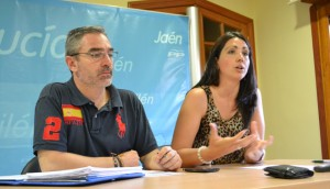 Camacho y Torres en la rueda de prensa celebrada este martes en su sede