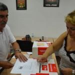 Los socialistas bailenenses también eligen a Pedro Sánchez como líder del PSOE
