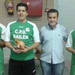 El CTM Bailén se alza con el Trofeo Virgen de Zocueca