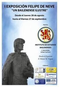 Cartel Exposición Felipe de Neve