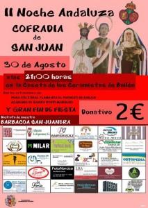 Cartel Noche Andaluza