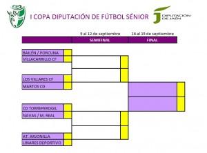 Emparejamientos Cuartos Copa Diputación