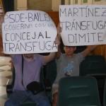 Manuel Martínez pasa a ser concejal no adscrito en el ayuntamiento de Bailén